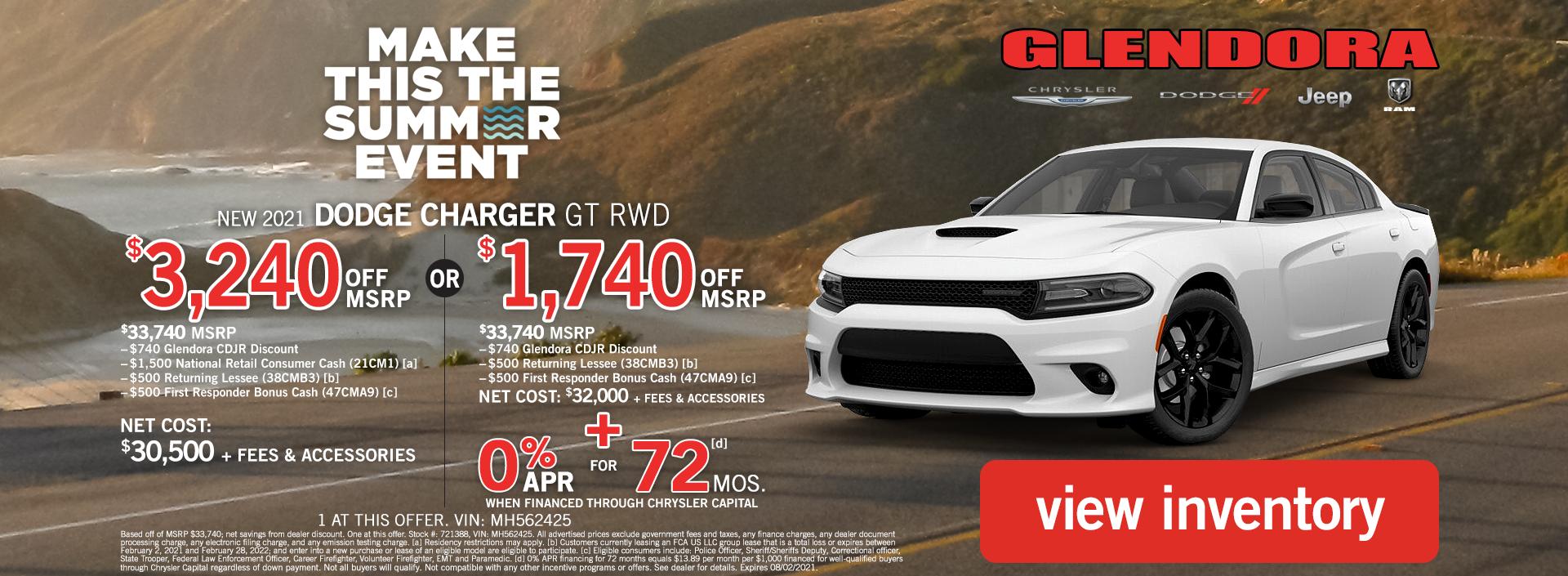 Dodge Charger Deals July 2021