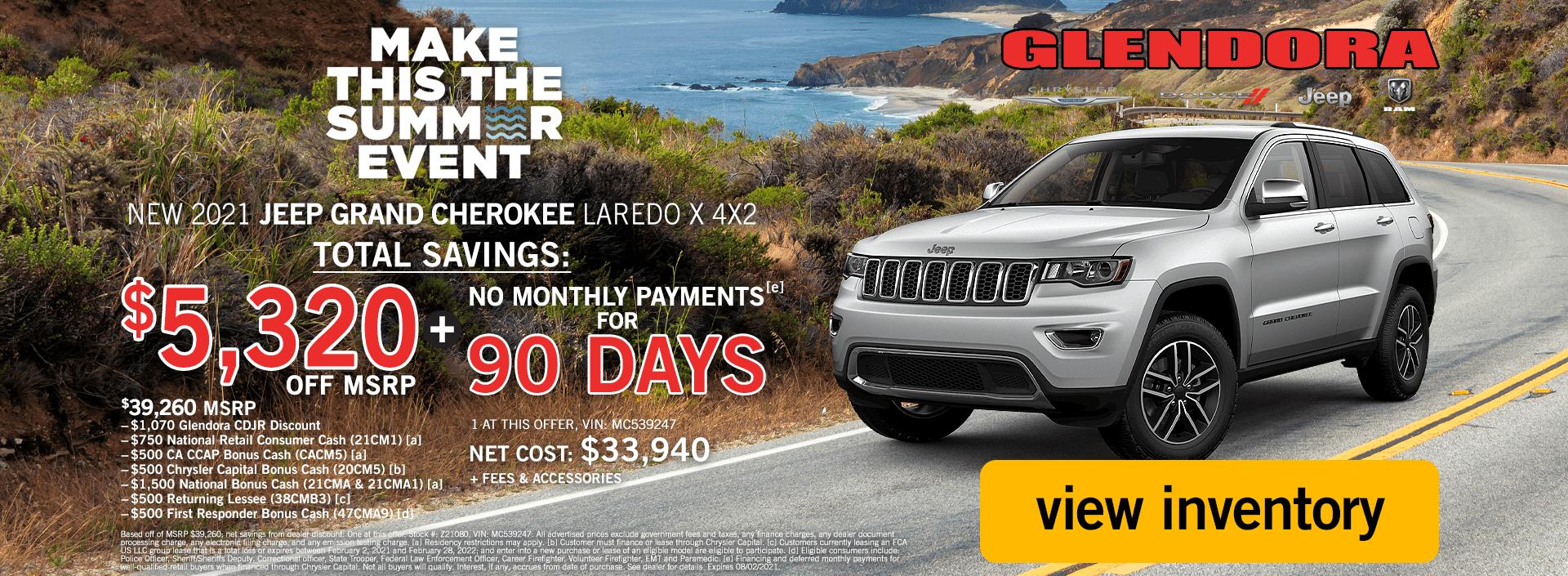 Jeep Grand Cherokee Deals July 2021