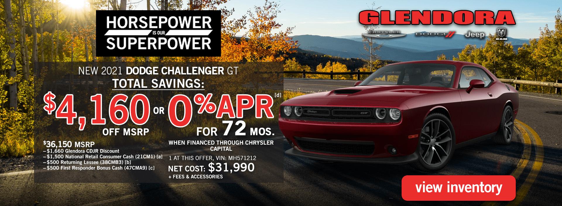 Glendora_CDJR_2021_September_Dodge_Challenger