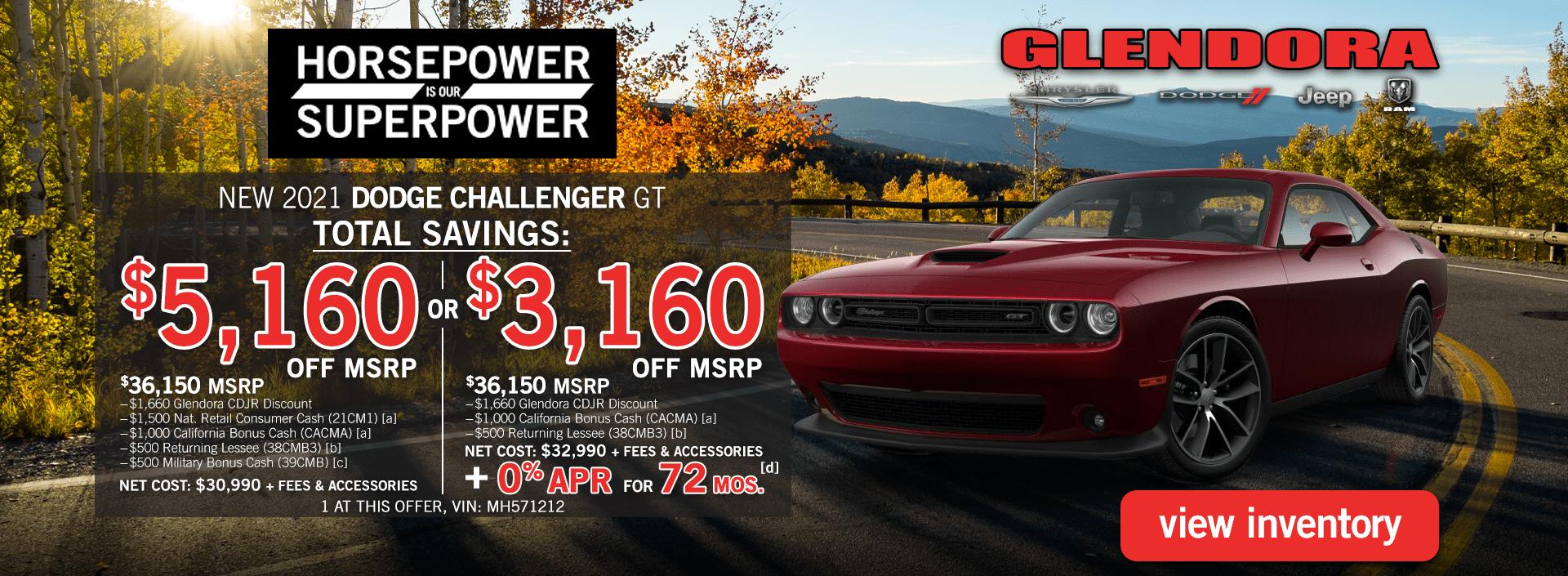 Glendora_CDJR_2021_October_Dodge_Challenger