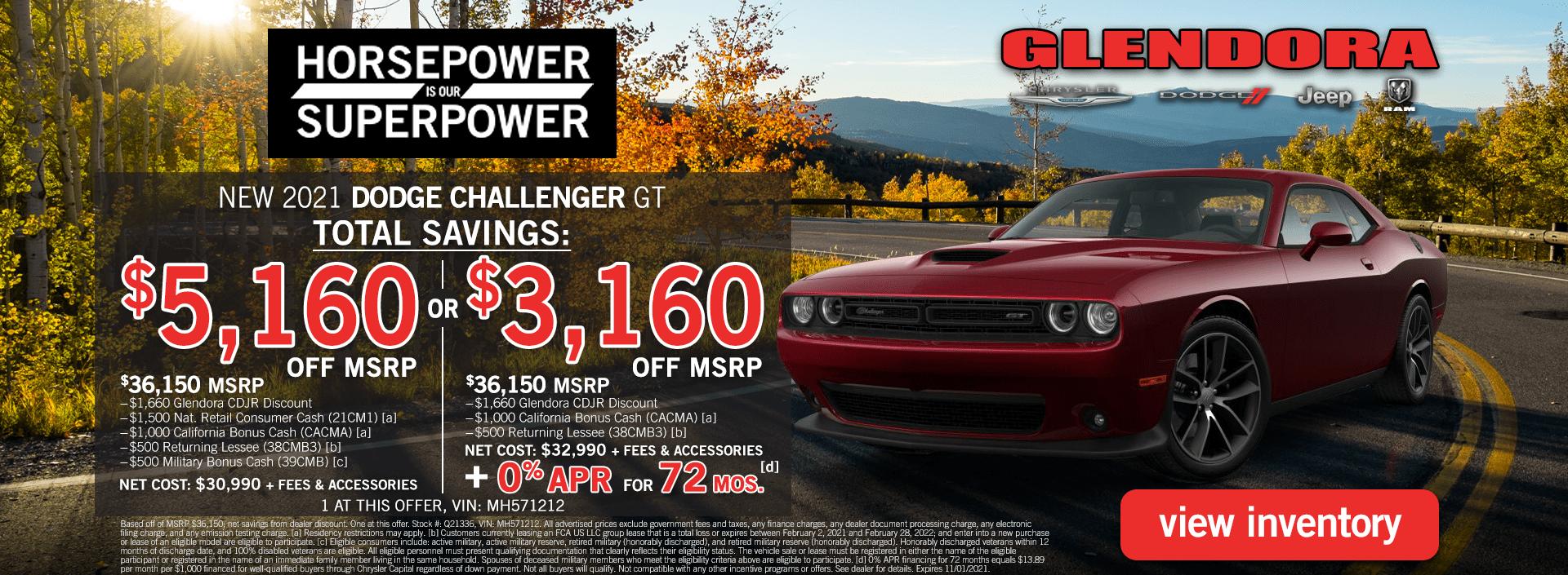 Dodge Challenger Specials Dodge Challenger Deals