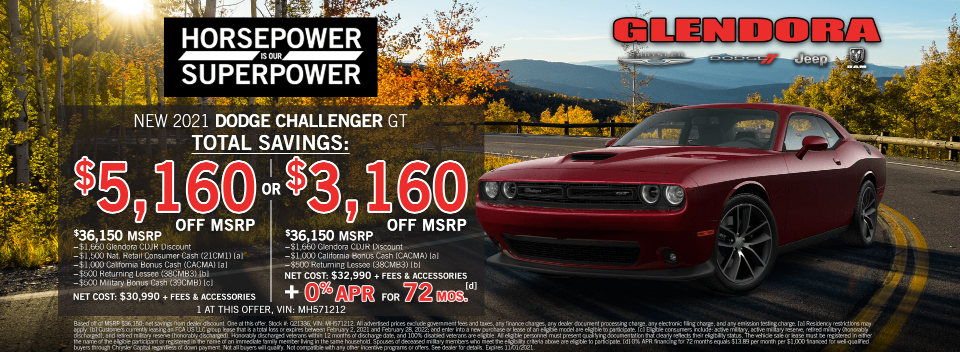 Dodge Challenger Deals