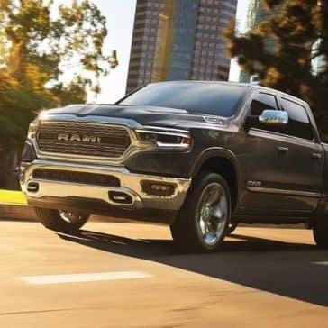 2019-Ram-1500-drives-down-city-street