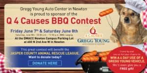 Gregg Young Newton Donate