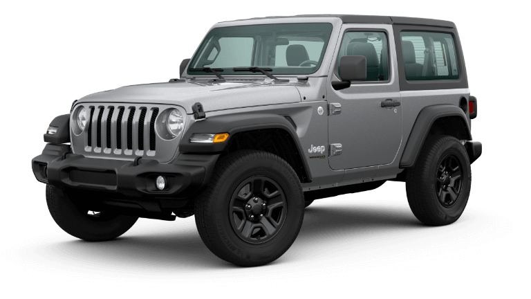 2020 Jeep Wrangler - Billet Silver Metallic Clear Coat