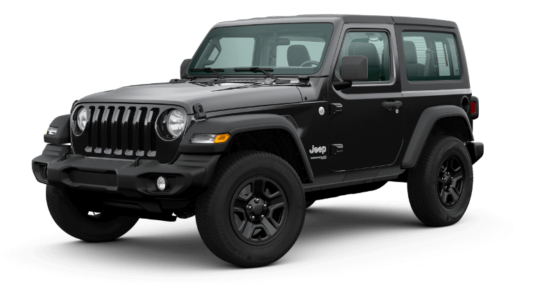 2020 Jeep Wrangler - Black Clear Coat