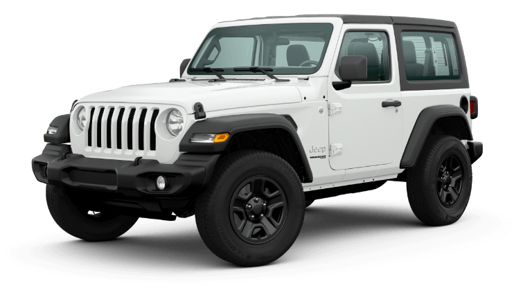 2020 Jeep Wrangler - Bright White Clear Coat