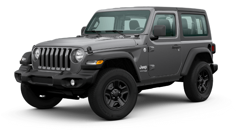 2020 Jeep Wrangler - Granite Crystal Metallic Clear Coat