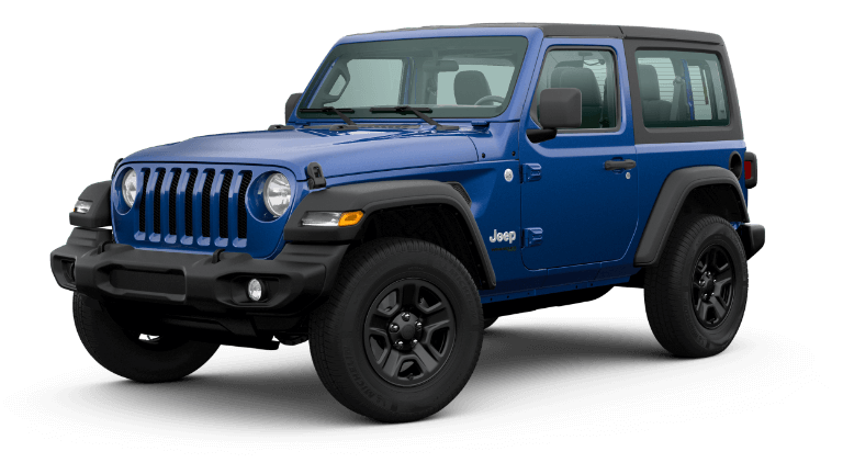 2020 Jeep Wrangler - Ocean Blue Metallic Clear-Coat