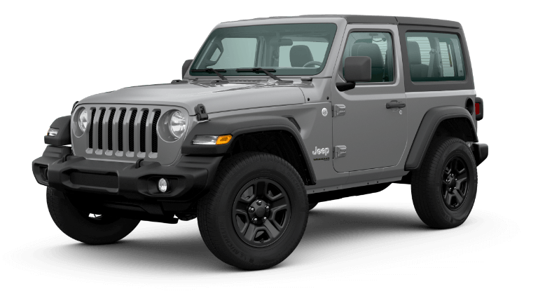2020 Jeep Wrangler - Sting Gray Clear Coat