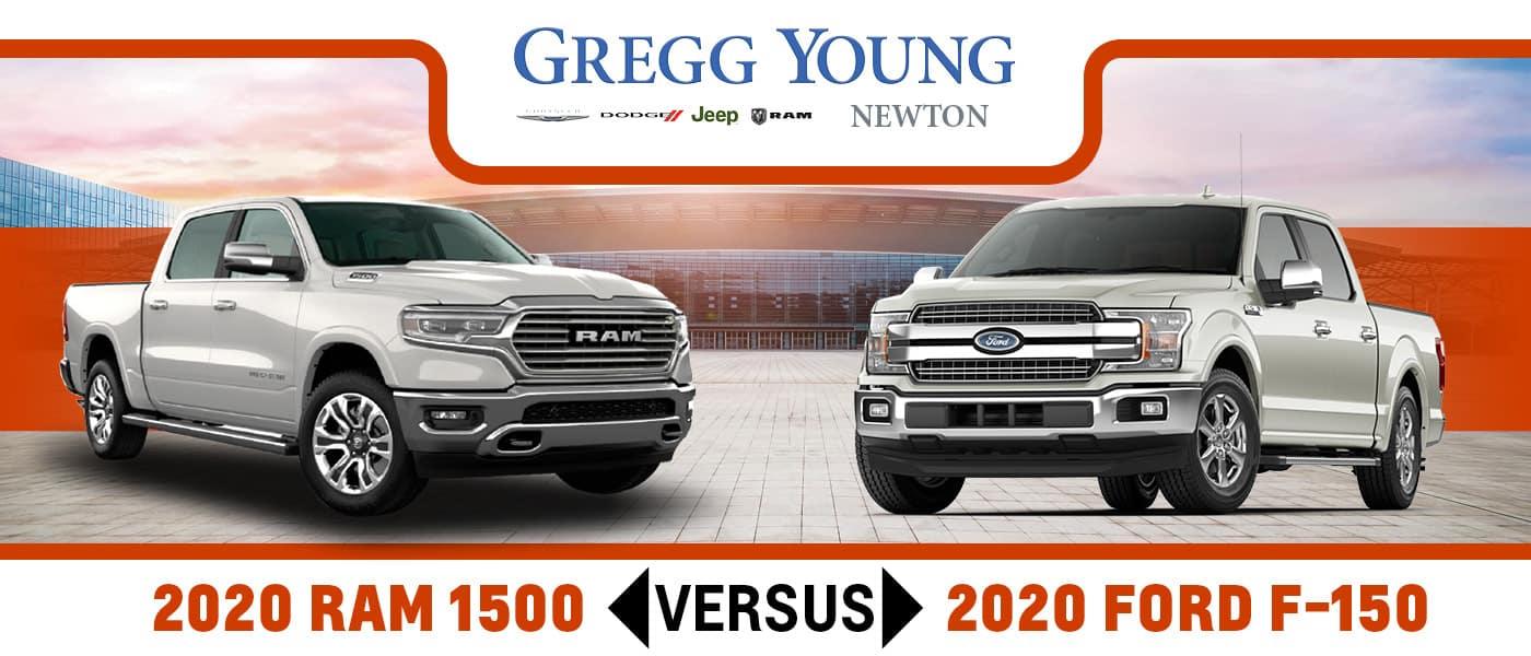 2020 Ram 1500 vs. 2020 Ford F-150