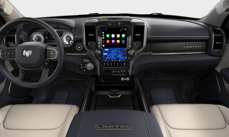 2020 Ram 1500 front interior
