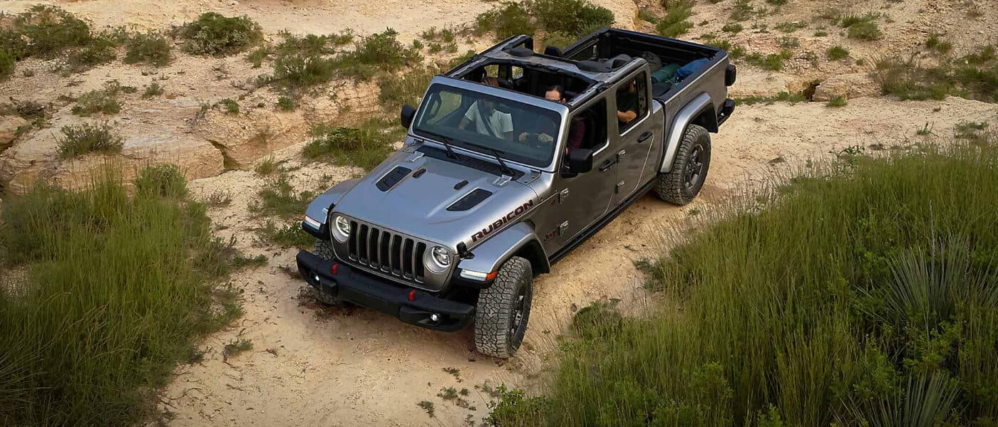 2020 Jeep Gladiator in a desert