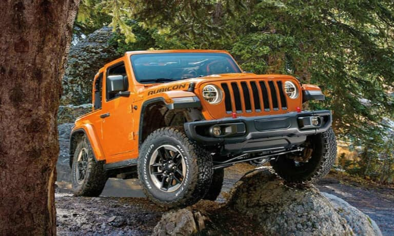 2020 Jeep Wrangler offroad gear and capabilities