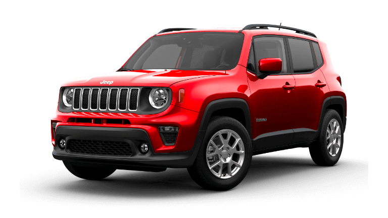 2021 Jeep Renegade in Colorado Red