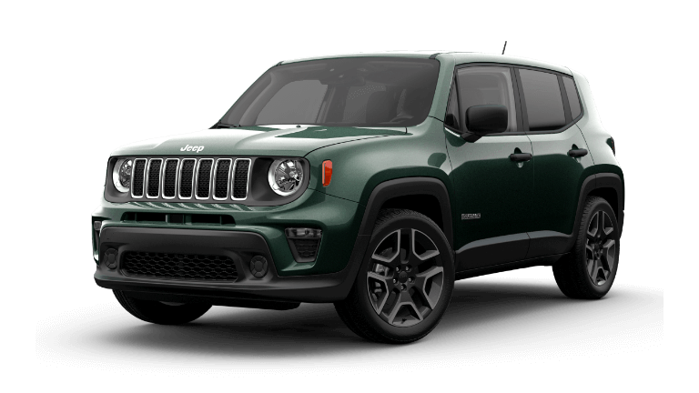 2021 Jeep Renegade Jeepster in Techno Green