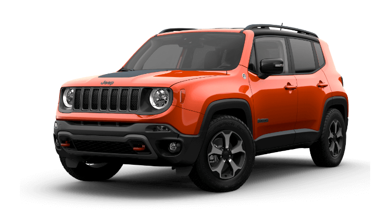 2021 Jeep Renegade in Omaha Orange