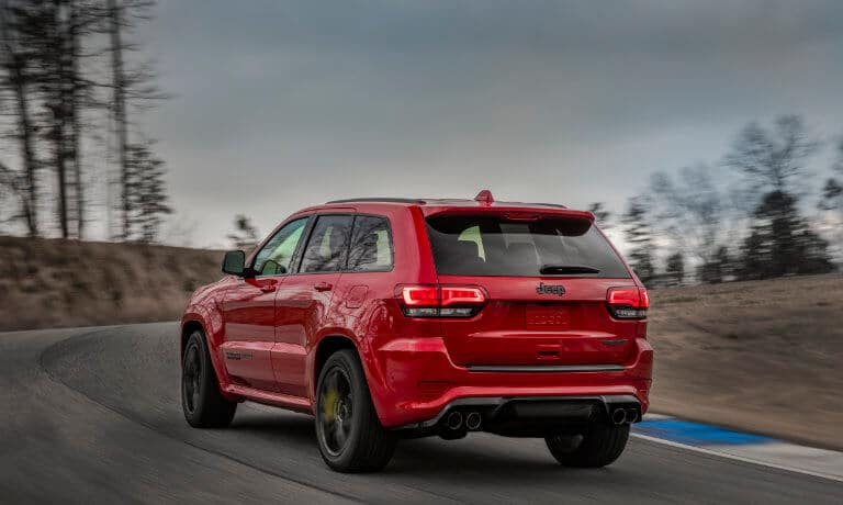 2021 Jeep Grand Cherokee exterior back view
