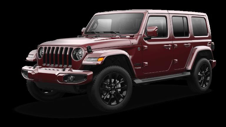 2021 Jeep Wrangler High Altitude