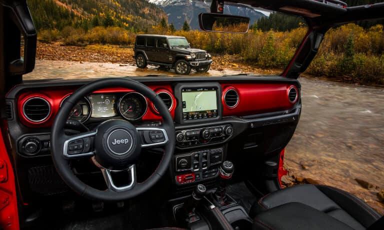 New Jeep Wrangler infotainment