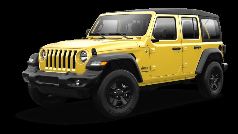 2021 Jeep Wrangler Hellayella