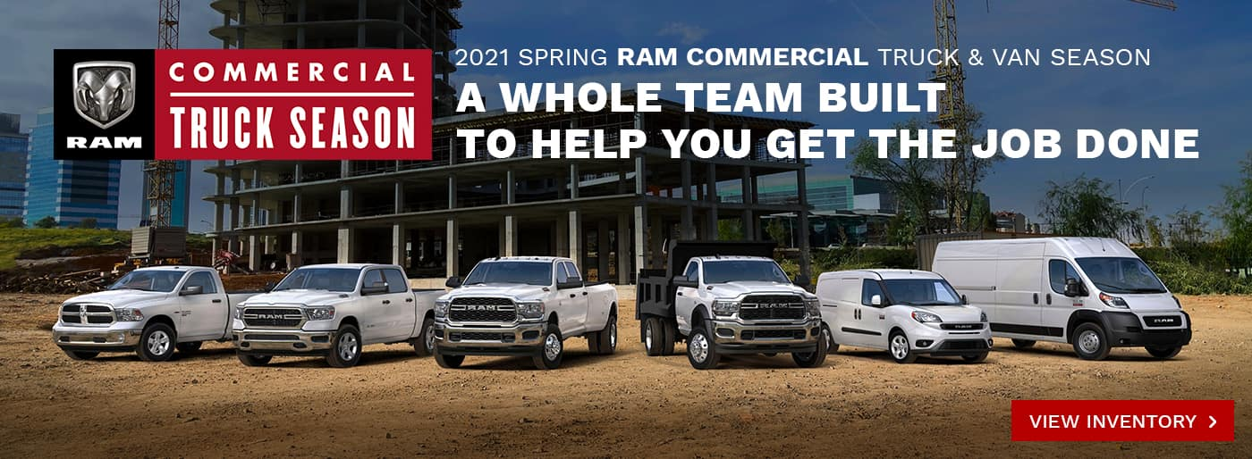 Ram Commercial Truck and Van Season