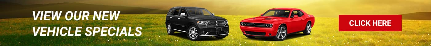 New Vehicle Specials at Hendrickson Auto
