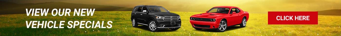 New Vehicle Specials at Hendrickson Auto