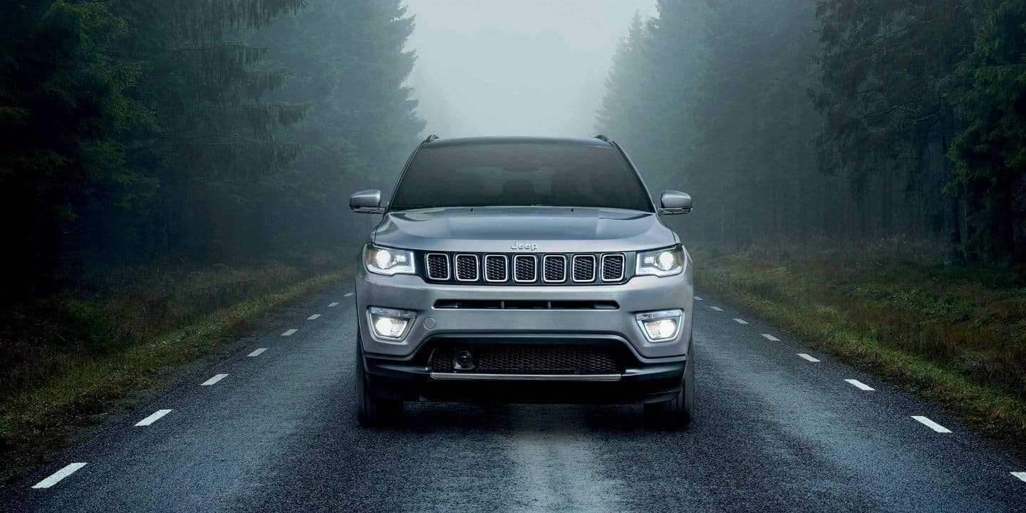 2019 Jeep Compass parked on road