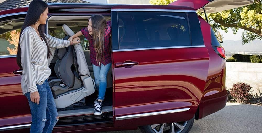 2020 Chrysler Pacifica Passengers