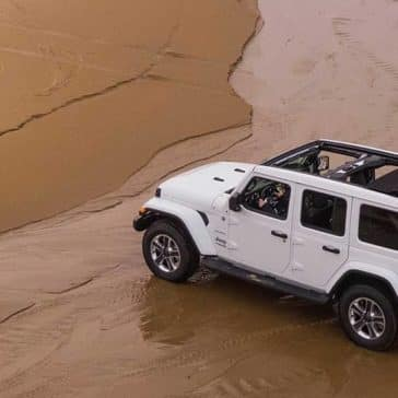2020 Jeep Wrangler On the Beach