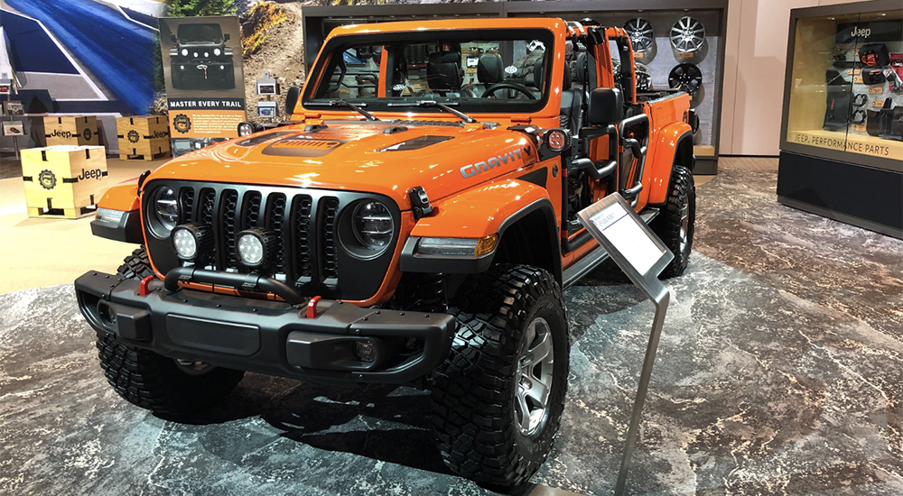Chicago Auto Show Jeep News