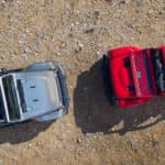 Jeep Gladiator Models Top View Down