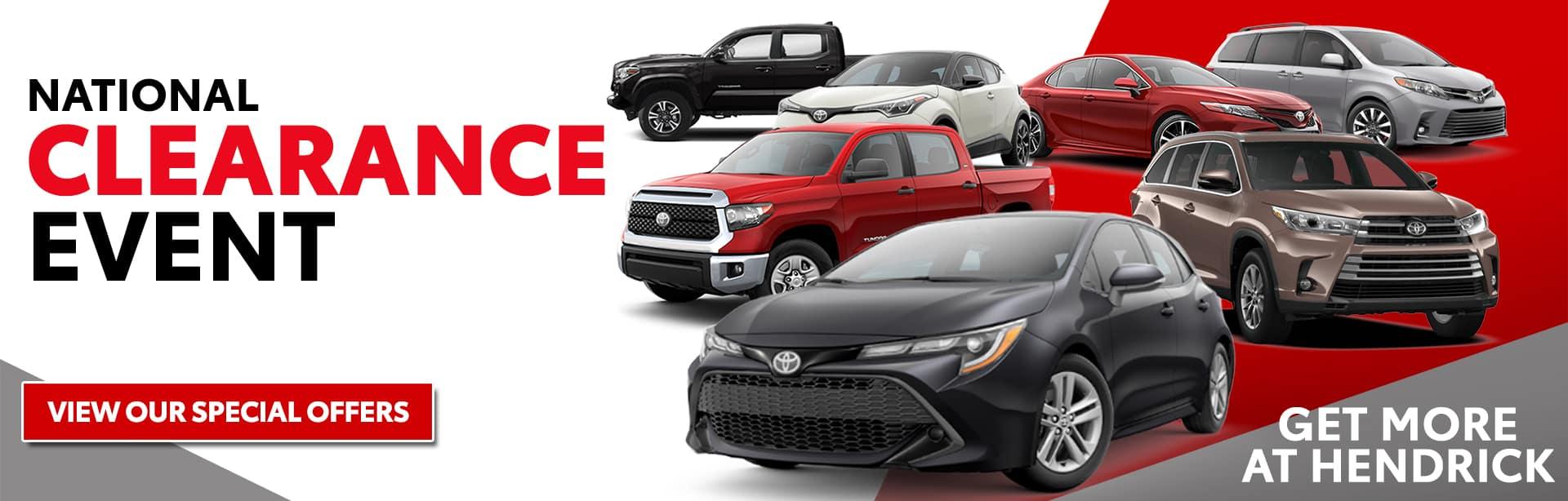 Hendrick Toyota Concord | Toyota Dealer in Concord, NC