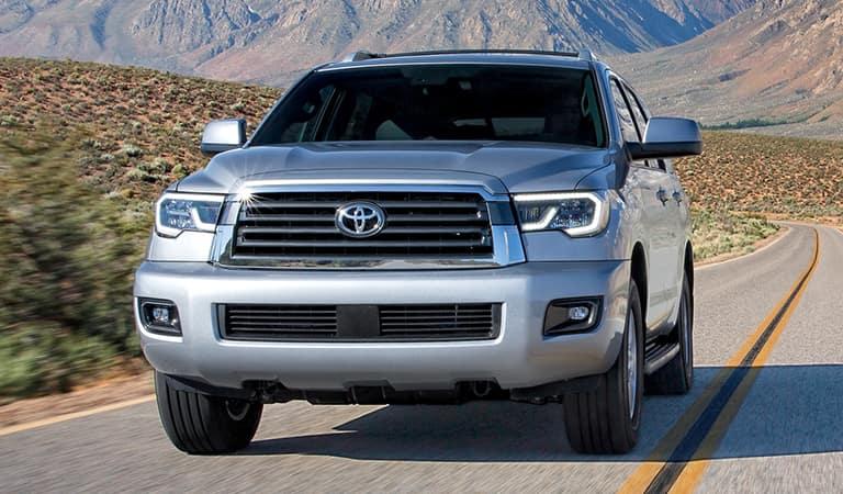 New Toyota Sequoia