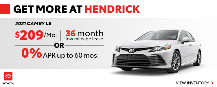 Get More with Hendrick!