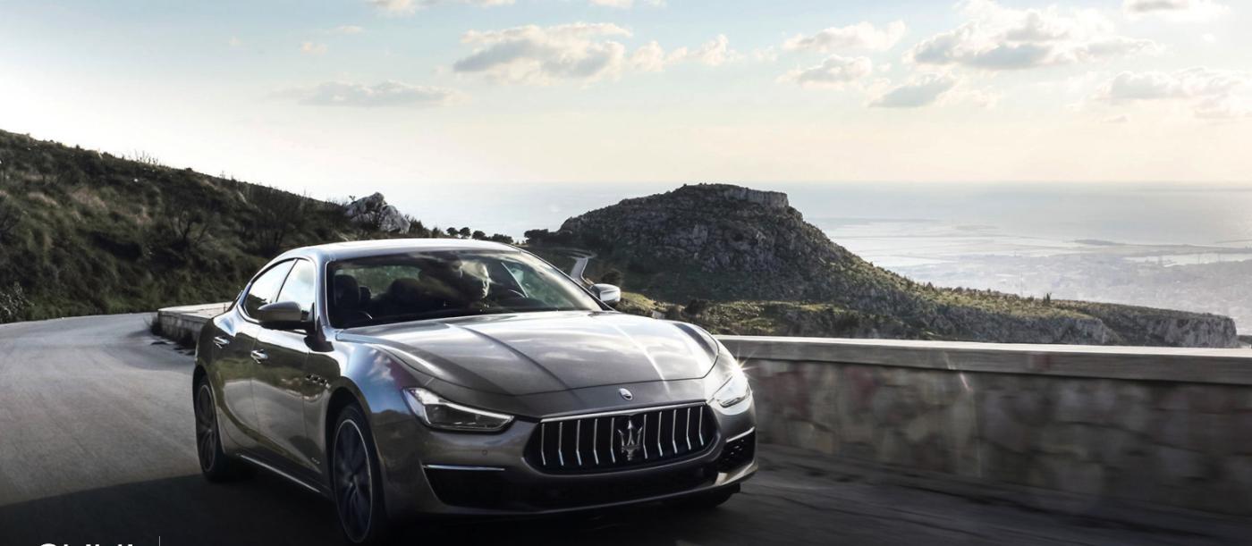 2021 Maserati Ghibli Driving