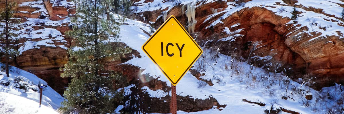 Tips to Safely Drive on Icy Roads