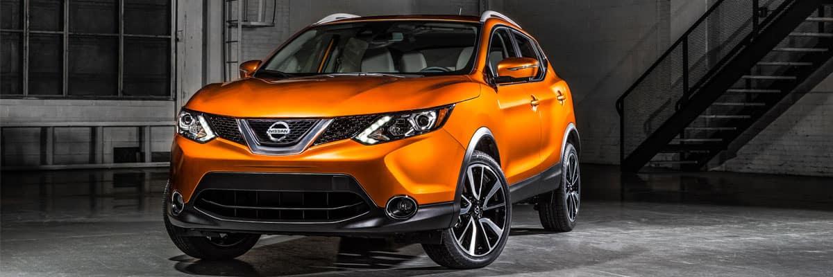 Orange 2017 Nissan Rogue