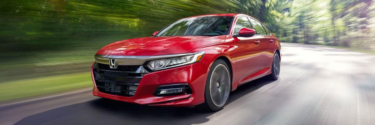 Red Honda Accord