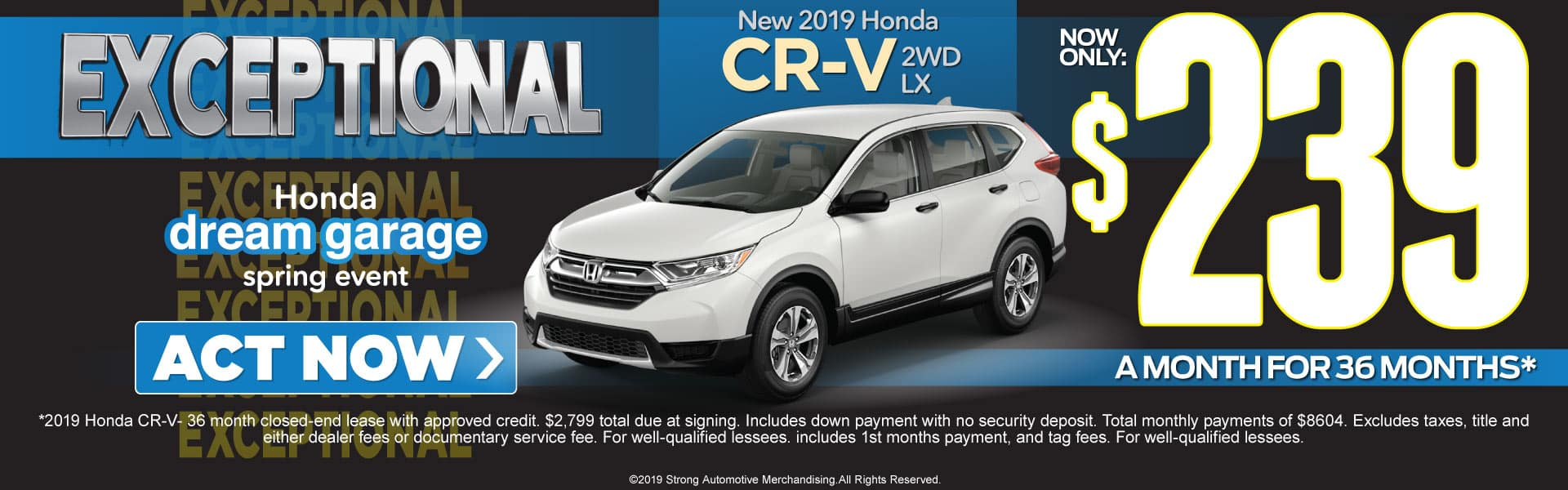 honda cr-v lease offer