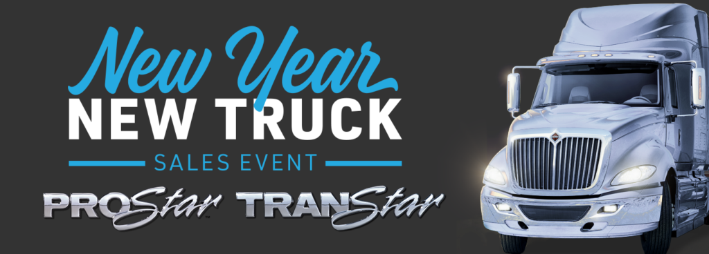 NEW YEAR, NEW TRUCK SALES EVENT<br>DOWNPAYMENT MATCH & 90 DAYS NO PAYMENT