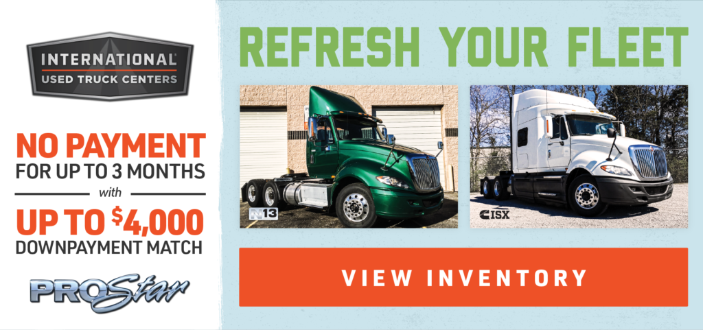 REFRESH YOUR FLEET<br> - NO PAYMENTS FOR UP TO 3 MONTHS
