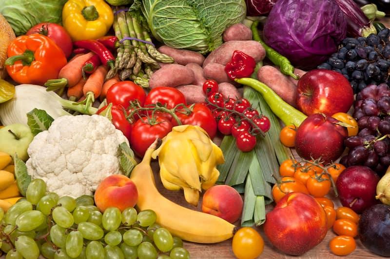 healthy food mix