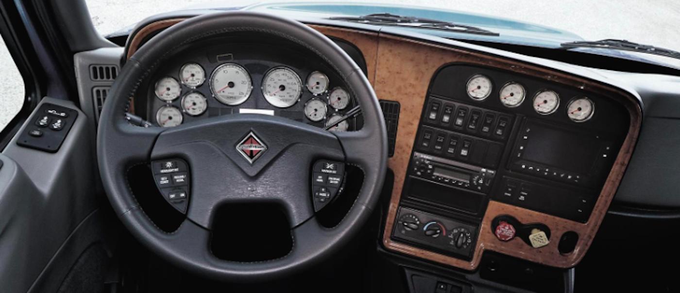 prostar interior dashboard radio