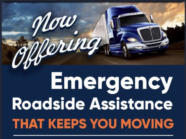 Now Offering Roadside Assistance