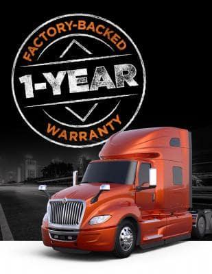 International Used Truck Center 1 Year Warranty
