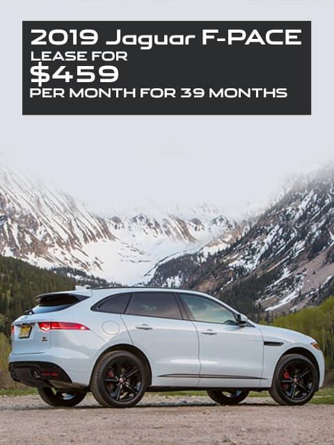 Jaguar F-Pace Lease for $459 a month