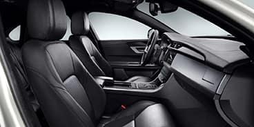 Jaguar-XF-Black-interior