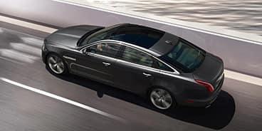 Jaguar-XJ-air-view